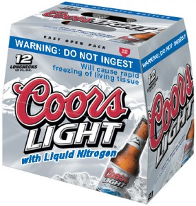 12 pack coors light