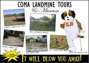 11 COMA LANDMINE TOURS AD