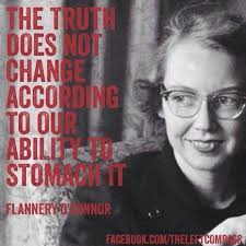 Flannery O'Connor...LOL..she wears glasses and wrote stuff...LOL...