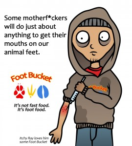 foot bucket 2 publish