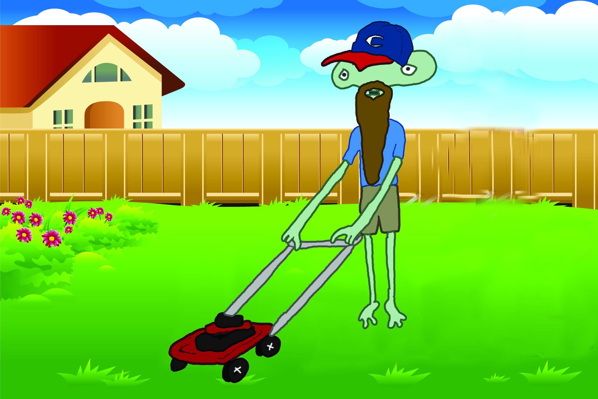 I Think Aliens Provide Lawn Care Service in My Neighborhood - Coma ...