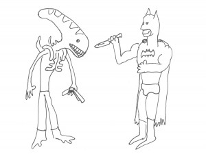 batman vs aliens 2