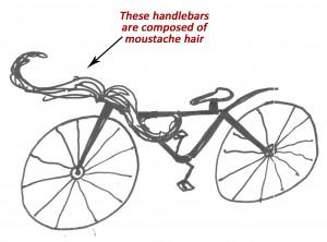 moustache handlebars