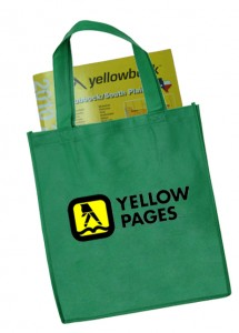 portable phone book tote