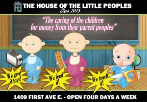The House of the Little Peoples has been in business since 1983 but my father considers each year as a new year which is why we have been open since 2013-- Sincerely, Marlee