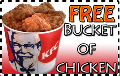 Coupons for kfc bucket of chicken