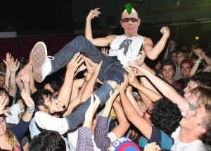 mayor mosh pit