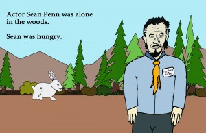 sean penn eats a rabbit pg 1