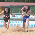 Competitive Wife Carrying Training