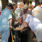 Sudden Death Elimination Hits Outdoor Chess Tourny