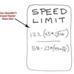1982 Coma DOT Creates Math Based Signs