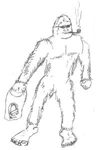 Bigfoot Taco Bell