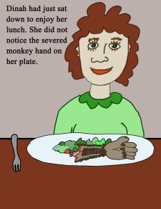 monkey hand 1