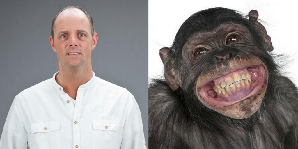 mayor and monkey