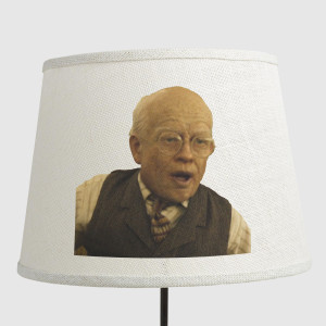 benjamin button lamp shade