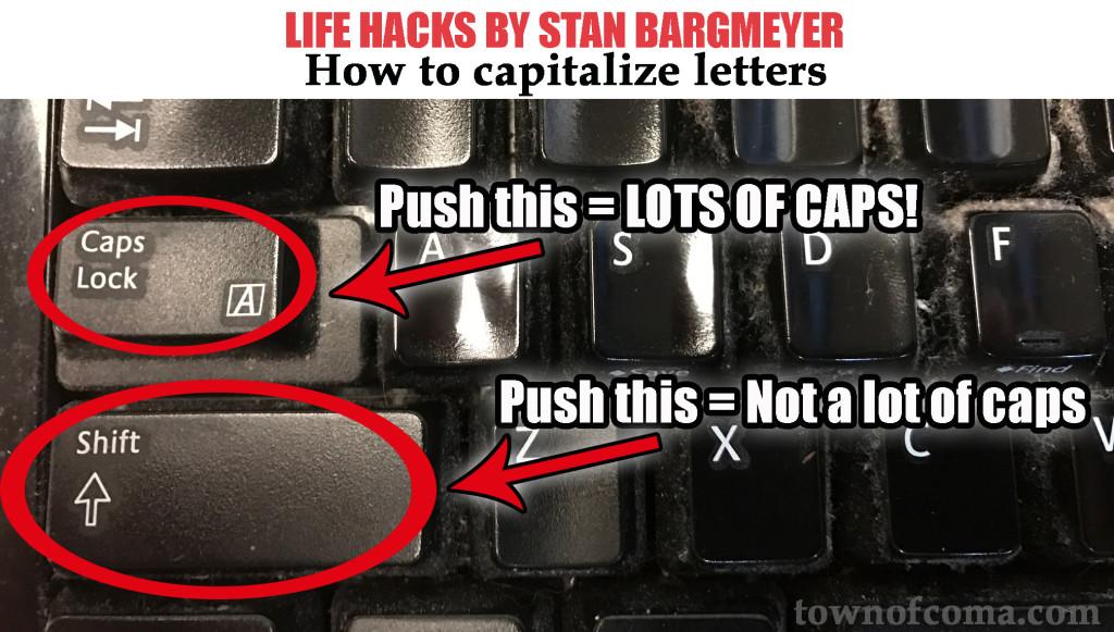 life hacks caps