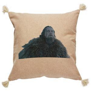 the revenant throw pillow